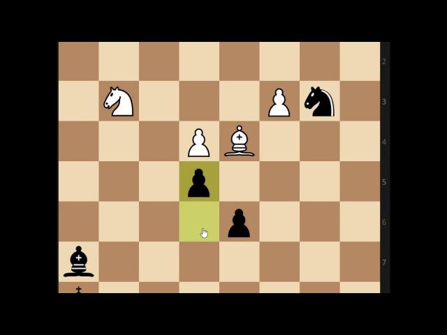 О целях игры в шахматы, шах, мат и пат