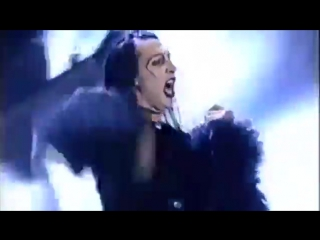 Marilyn Manson - The Beautiful People Live Satellite Backhaul Widescreen 1997