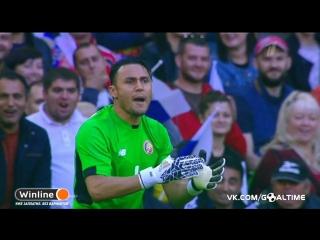 Россия - Коста-Рика 3:4. Обзор товарищеского матча.