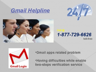 Get Gmail Help via 1-877-729-6626 for instant solution