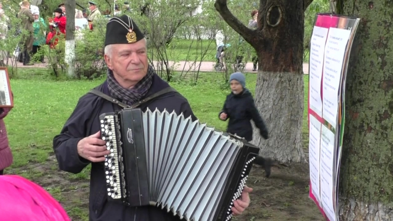 9 мая 2017 год. г. Калуга.ул. Площадь победы.