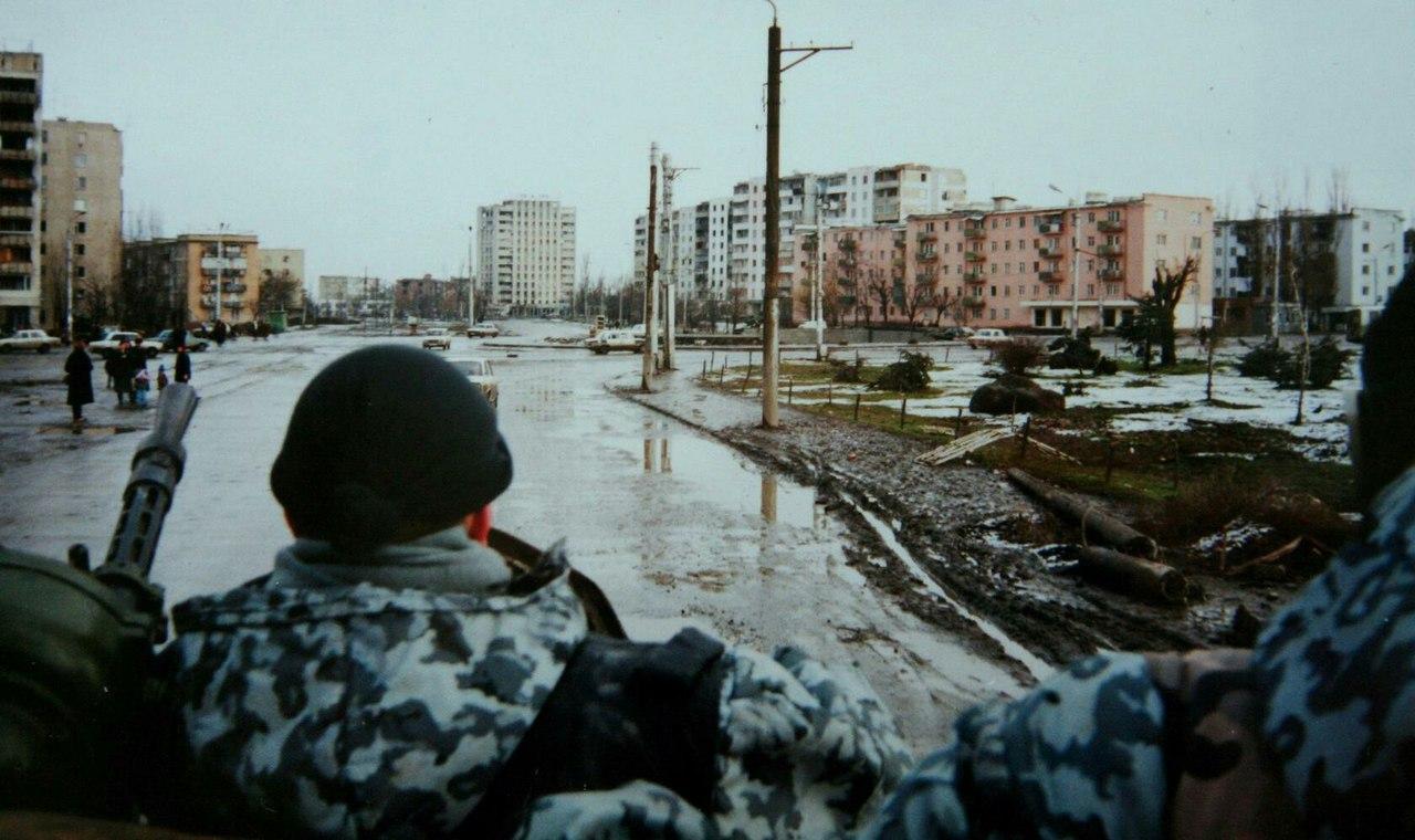 Город грозный фото нынешних домов