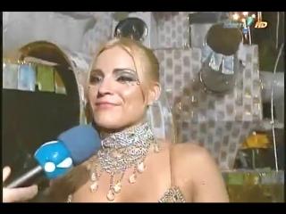 Rede tv mostrando a xavasca inchada da loira da laje - bastidores do carnaval.mp4.mp4