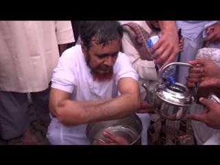 Шейх Хабиб Умар показывает как делать омовение ( вуду)