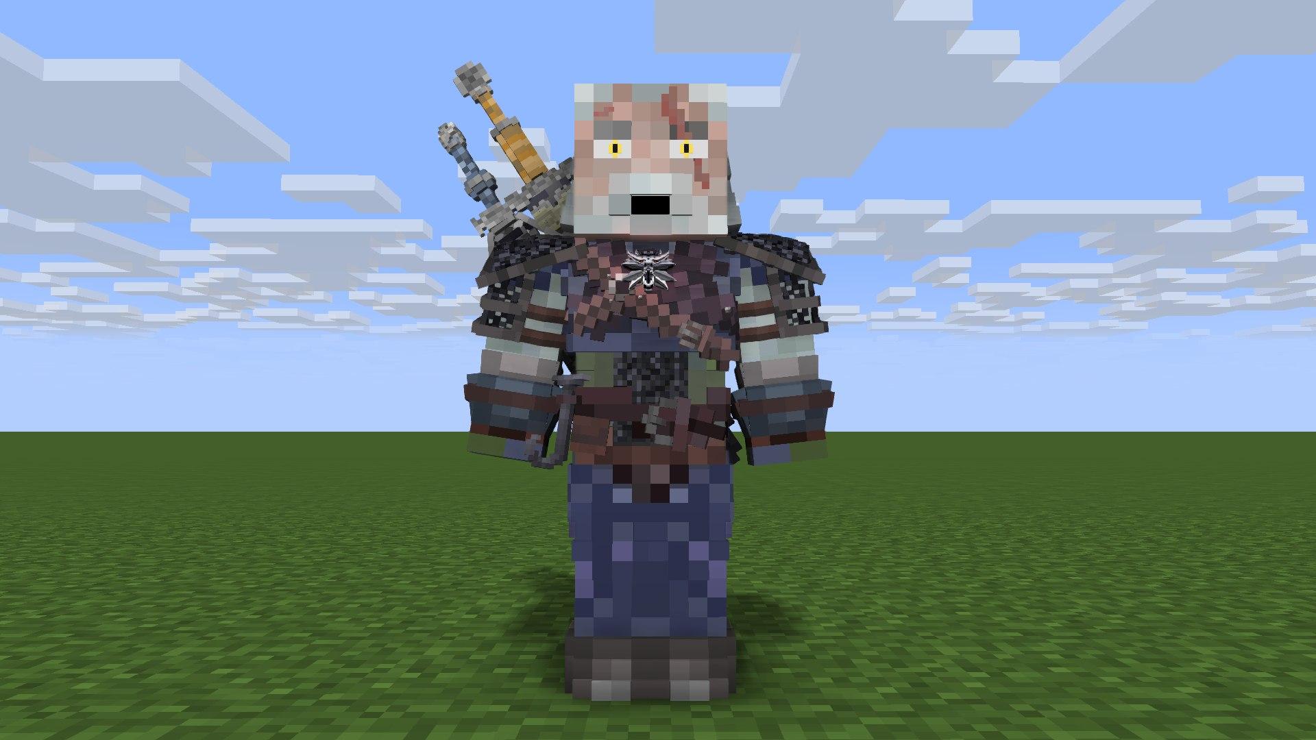 The Witcher - Geralt of Rivia - Random/Test animations - Mine