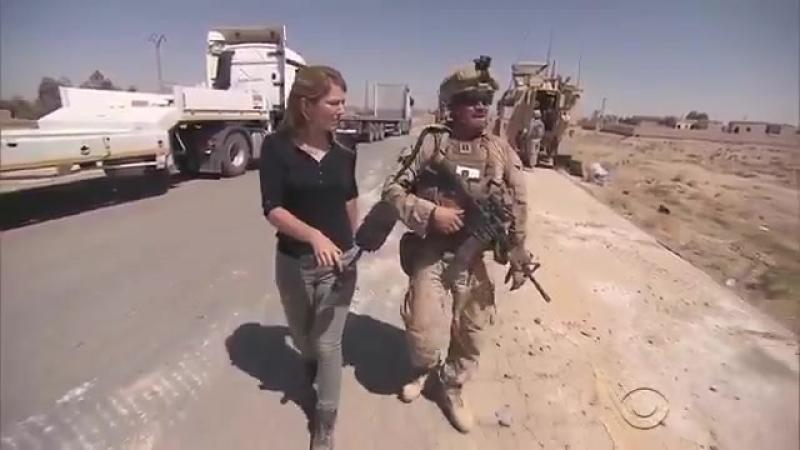 Морпехи США якобы строят мост в районе Ракки