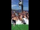 Пенная дискотека на яхте Бодрум