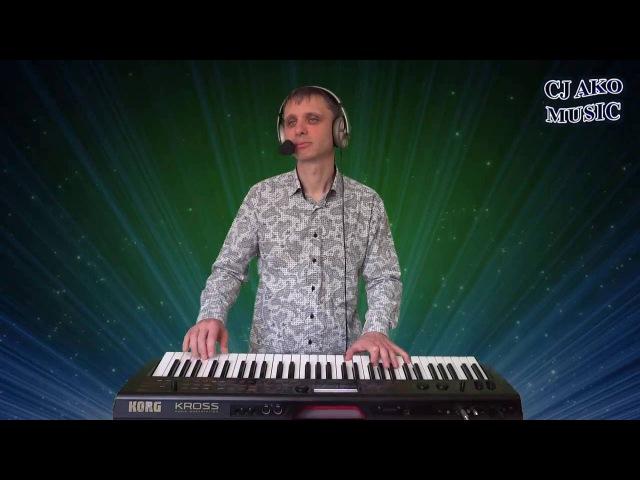 CJ AKO Тебе 2016 Запись игры и пения на синтезатор Korg Kross красивая мелодия на пианино p...