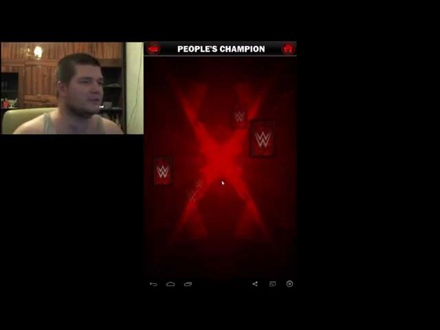 WWE Supercard на русском RUS PCC Goldust vs Stardust Let's Play c Казановой из НФР часть 9