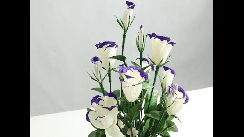 15.2 Làm hoa LAN TƯỜNG bằng giấy nhún - Didahaa.com Chia sẻ link QC kiếm tiền