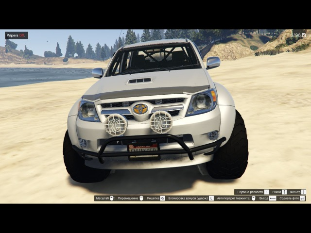 GTA 5 2007 Top Gear Toyota Hilux AT38 Arctic Trucks