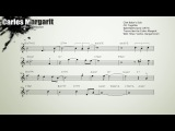 Autumn Leaves-Chet Bakers (Bb) Transcription.Transcribed by Carles Margarit