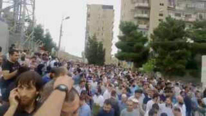 Musviqabad bayram namazi 2013.08.08