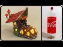 ❣DIY Boot Fairy House Recycling a Plastic Bottle❣