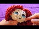 Como hacer los ojos de muñeca a crochet