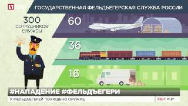 Неизвестные напали на фельдъегерей в Домодедово