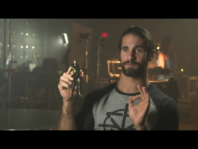 Go behind the scenes of Seth Rollins' Mattel WWE Tough Talkers commercial (WWE Network Exclusive)