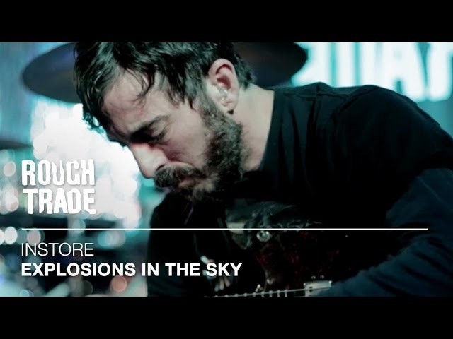 Explosions in the Sky | Instore at Rough Trade East, London