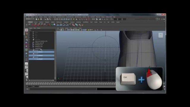 CGI 3D Tutorials : Creating a Character Rig Part 11 Leg Settings Switch with IK FK Attribute