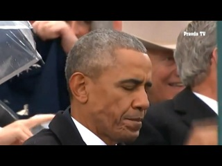 Реакция Обамы на спасибо Трампа за мирную передачу власти