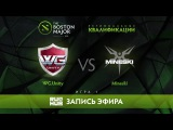 WG.Unity vs Mineski, Boston Major Qualifiers - SEA Playoff, game 1 [Adekvat, 4ce]