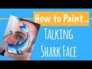 Talking Shark Face Paint!