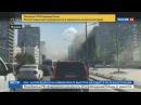 Новости на «Россия 24» • Сезон • В Москве на Новом Арбате горит одна из высоток