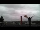 Камлание городских шаманов. Обряд пробуждения дракона Зиланта на крыше лофта Алофузова. (Арт-хаус Тумо)