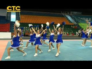 Первые крупные соревнования по чирлидингу состоялись в Ханты-Мансийске