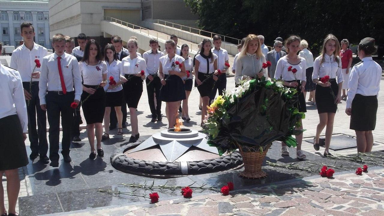 Под знаменем ДЮО «Молодая Гвардия» – новые участники организации