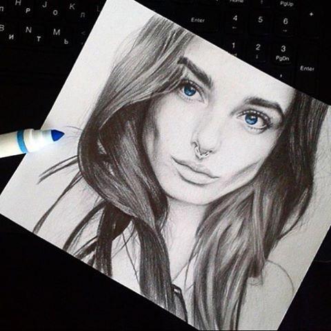 Рисую портреты