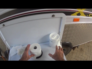 3 ВАРИАНТА ХРАНЕНИЯ ТУАЛЕТНОЙ БУМАГИ How to Make 3 very Simple Camping Toilet Paper Holders, Camping Gear DIY, Keep one in your