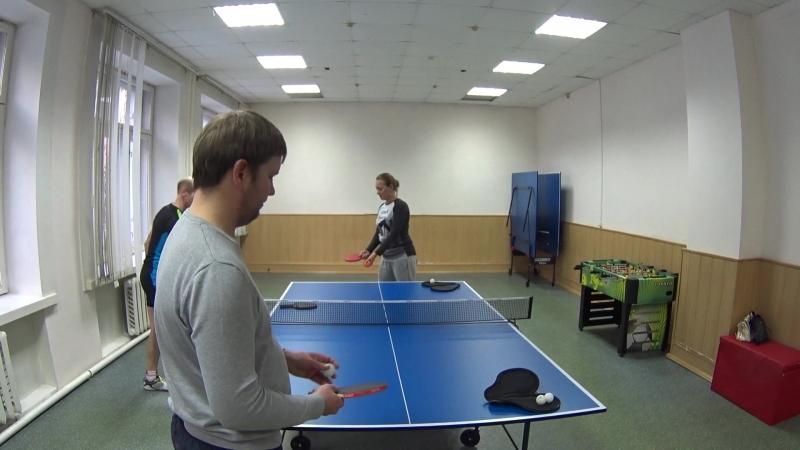 Пинг-понг в ССК Молния. Настольный теннис в Омске.