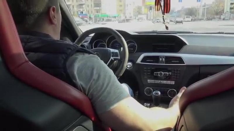 По Душе Mercedes C63 AMG Obzor i Test Drayv