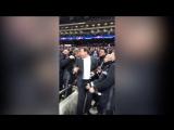 Слуцкий и Овчинников после игры с «Тоттенхэмом» вступили в конфликт с болельщиком
