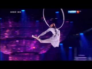 Синяя птица. Карина Ситдикова. Акробатика