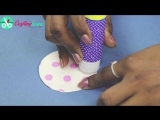 Christmas Paper Crafts-How to Make Paper Ball for DIY Party Decorations