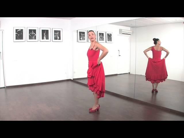 Curso Aprende a Bailar Sevillanas con Pilar Astola Introducción y 1º pasos