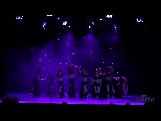 ТК Овация. Шоу Танго. Отчетный концерт школы восточного танца Elissa
