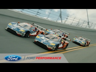 Ford Chip Ganassi GTs Hit Roar Before the 24 | Rolex 24 | Ford Performance