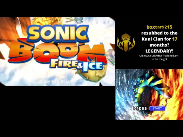[Vinesauce] Imakuni - Sonic Boom: Fire and Ice (Part 1)