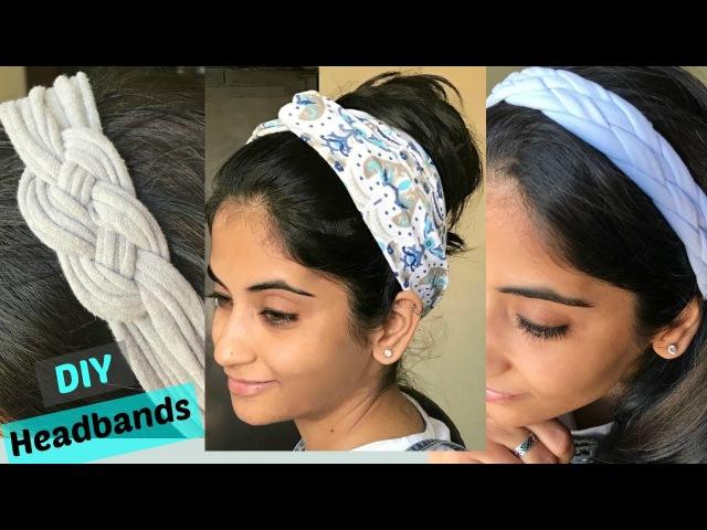 DIY: 3 ways to make stylish headbands from old T-shirts