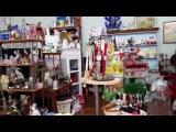 АНТИКВАРНЫЙ САЛОН В США Bay Breeze Antiques. Архивное видео из Флориды /American liFE # 218