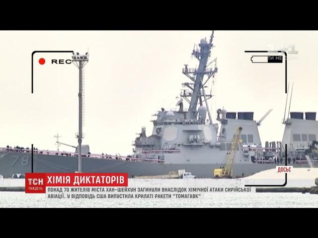 Наслідки хімічної атаки: чим Україні загрожує удар США по аеродрому Сирії