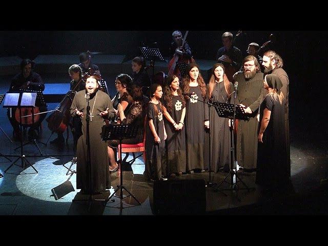 Отец Серафим Бит Хариби с оркестром 50 й Псалом 09 11 2016