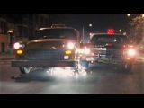 '70 Impala chases '74 Checker Taxi in Maniac Cop 2