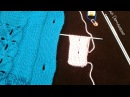Как сделать вертикальную петлю на спицах