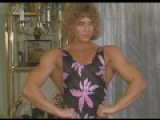 Denise Rutkowski vs Carl Real Mixed Armwrestling Sexy Female Muscle Show