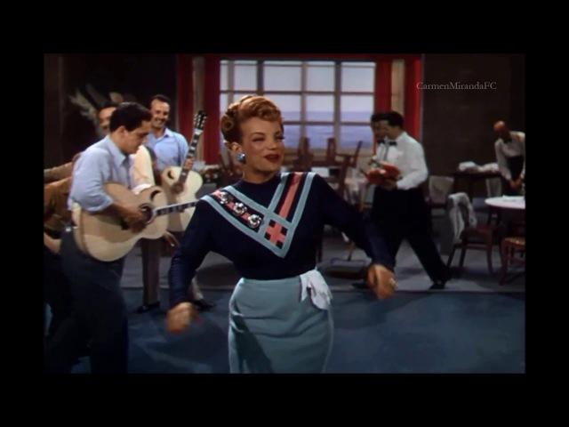 Carmen Miranda em Romance Carioca Dublado (TRECHO)