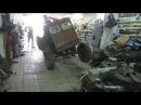 Замена сцепления на самодельном тракторе